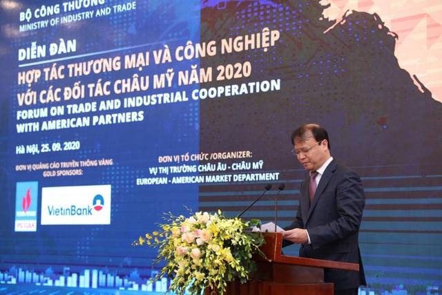 Kết nối cung cầu giữa Việt Nam và các đối tác khu vực châu Mỹ năm 2020 - 2