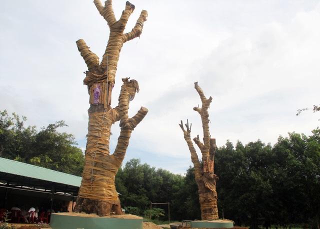 Bị phát hiện, đối tượng vận chuyển cây quái thú bỏ lại cây để tháo chạy - 2