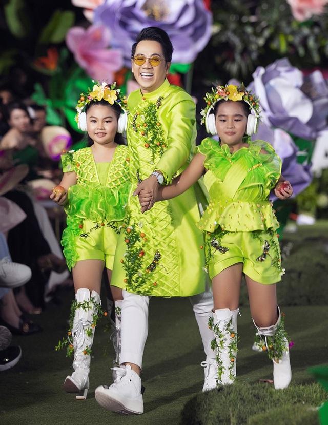 Cẩm Ly và Minh Tuyết gây bất ngờ khi trình diễn thời trang cùng hai con gái - 6