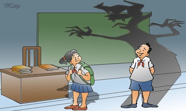 Đừng để đằng sau cánh cửa trường học là những nỗi bất an - 1