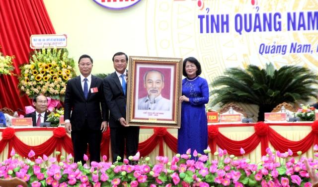 Phó Chủ tịch nước dự Đại hội thi đua yêu nước tỉnh Quảng Nam - 2