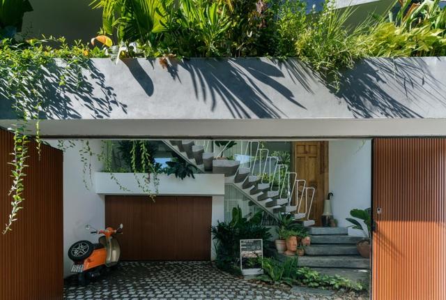 Ngôi nhà có khu vườn treo độc đáo khiến gia chủ ở nhà cả ngày không chán - 3