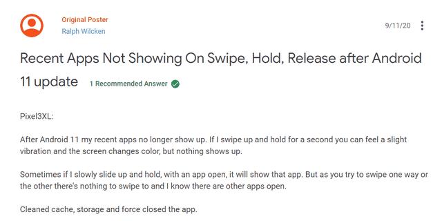 Android 11 gặp nhiều lỗi nghiêm trọng gây văng app, màn hình nhấp nháy - 2