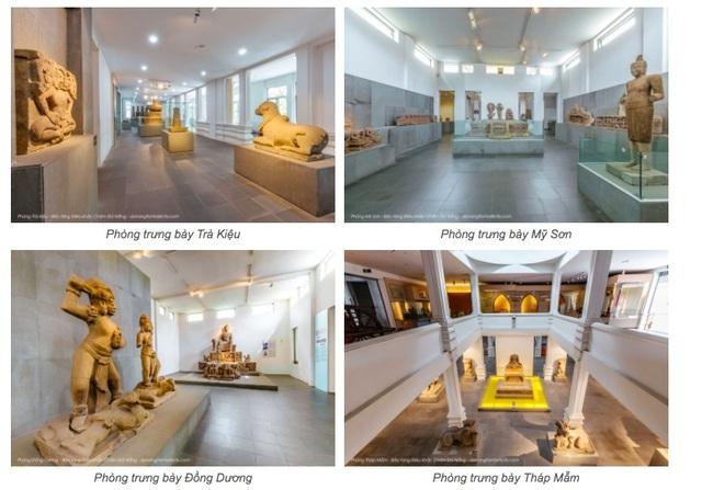 Du lịch trực tuyến với Scan 3D ở Bảo tàng Điêu khắc Chăm Đà Nẵng - 1