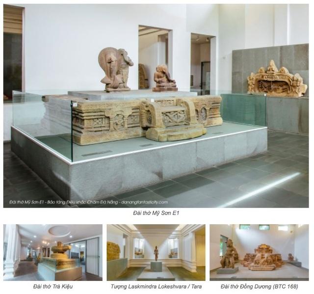 Du lịch trực tuyến với Scan 3D ở Bảo tàng Điêu khắc Chăm Đà Nẵng - 2
