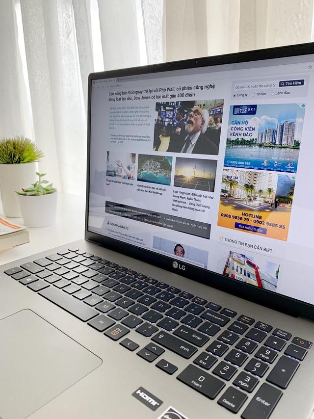 LG GRAM 17 inch: Mẫu laptop dành cho doanh nhân bận rộn - 2