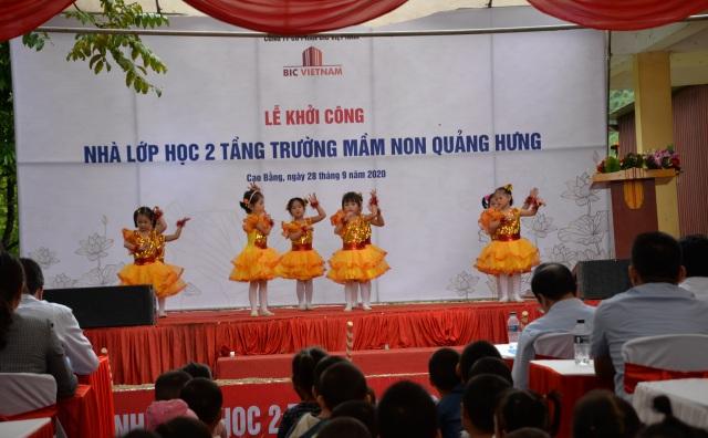 BIC Việt Nam tài trợ xây dựng trường mầm non Quảng Hưng - 2
