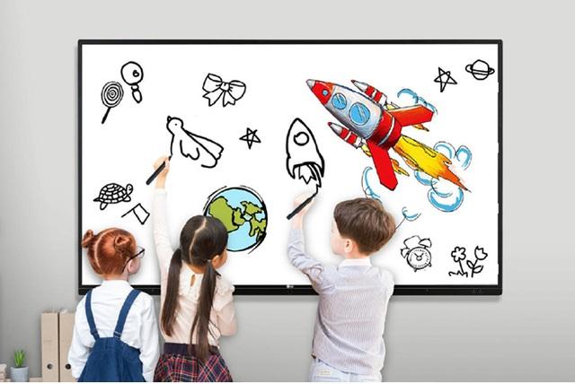 Màn hình tương tác được ưa chuộng từ lớp học đến phòng họp - 2
