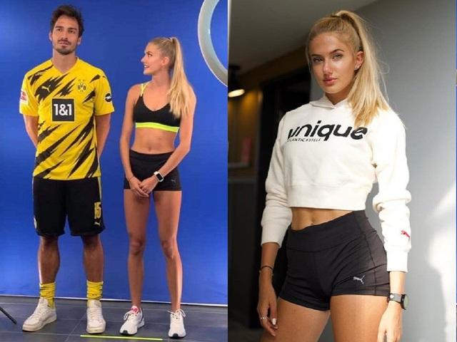 """Nữ vận động viên xinh đẹp nhất thế giới bất ngờ """"giữ chân"""" Sancho - 2"""