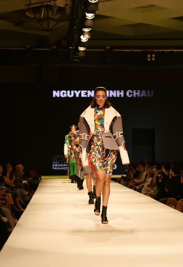 Quỳnh Anh Shyn, Quỳnh Lương lên đồ sang chảnh dự show thời trang sinh viên - 9