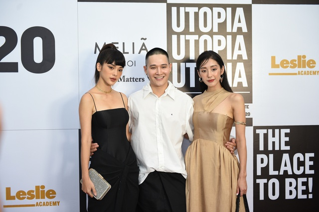 Quỳnh Anh Shyn, Quỳnh Lương lên đồ sang chảnh dự show thời trang sinh viên - 4