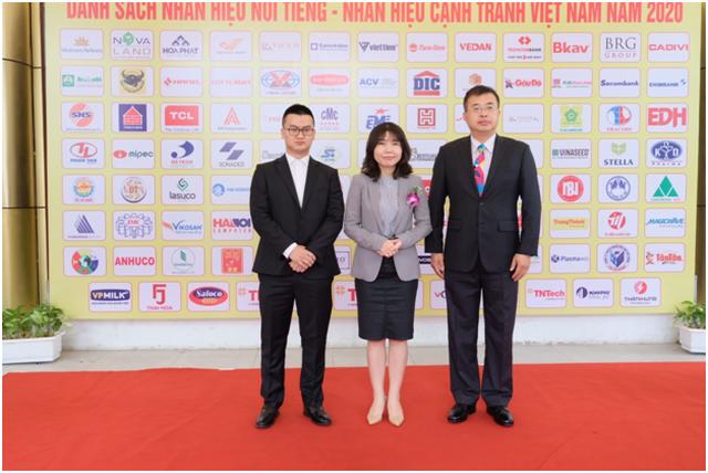 """TCL nhận giải thưởng top """"Thương hiệu nổi tiếng Việt Nam 2020"""" - 2"""