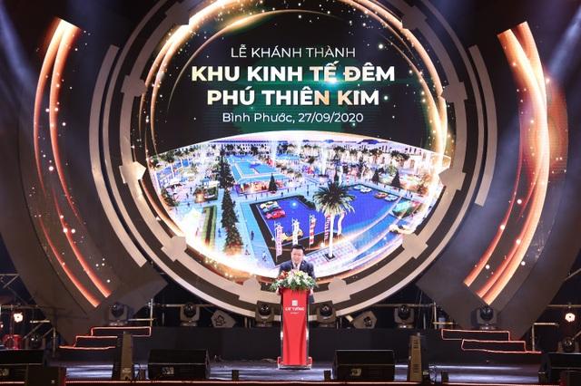Chính thức khánh thành khu kinh tế đêm đầu tiên tại thành phố Đồng Xoài - 2