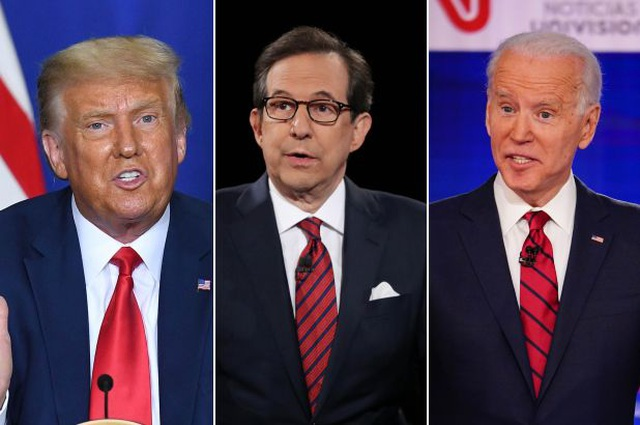 Người cầm trịch hiệp đấu Trump và Biden đầu tiên  - 1