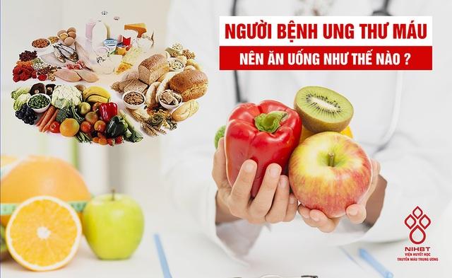 Thực phẩm nào tốt, không tốt với bệnh nhân ung thư máu? - 1