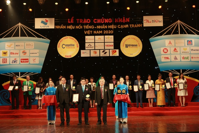 ACV được vinh danh Top 20 nhãn hiệu nổi tiếng Việt Nam năm 2020 - 1