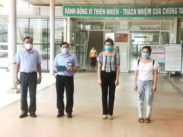 2 bệnh nhân mắc Covid-19 cuối cùng ở Quảng Nam xuất viện - 1
