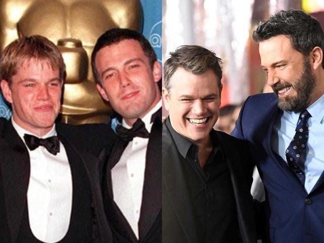 Tình bạn bền chặt hiếm có của hai tài tử Ben Affleck và Matt Damon - 1