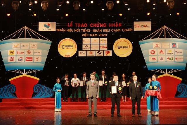 Cường Thịnh Phát Group lọt Top 100 nhãn hiệu nổi tiếng Việt Nam 2020 - 1