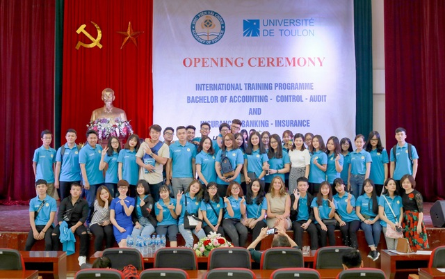 Học viện Tài chính tiếp tục xét học bạ THPT vào Hệ liên kết Quốc tế - 1