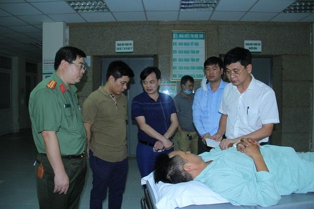 Truy bắt đối tượng buôn ma túy đâm 2 chiến sĩ công an trọng thương - 1