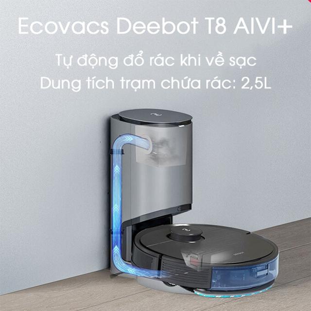 Robot hút bụi lau nhà thông minh - Ecovacs Robotics - 6