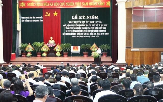 Quỹ khuyến học Thanh Hóa đạt hơn 367 tỷ đồng - 1