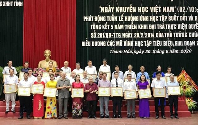 Quỹ khuyến học Thanh Hóa đạt hơn 367 tỷ đồng - 3