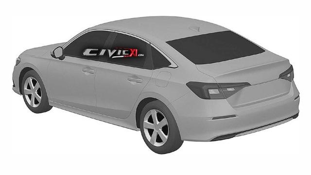 Hé lộ hình ảnh đầu tiên về Honda Civic thế hệ mới 2022 - 3