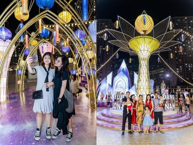 """Chiêm ngưỡng Cây Đèn Lồng hoa đăng """"khổng lồ"""" nhận kỷ lục lớn nhất Việt Nam - 2"""