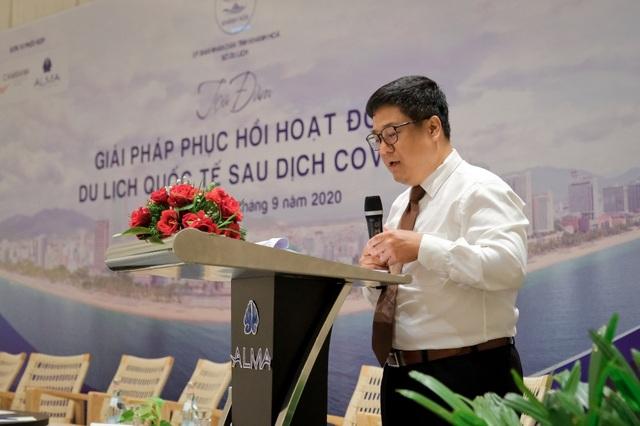 Đại diện Alma Resort đề xuất giải pháp thu hút khách quốc tế sau Covid - 1