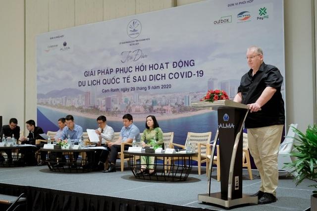 Đại diện Alma Resort đề xuất giải pháp thu hút khách quốc tế sau Covid - 2