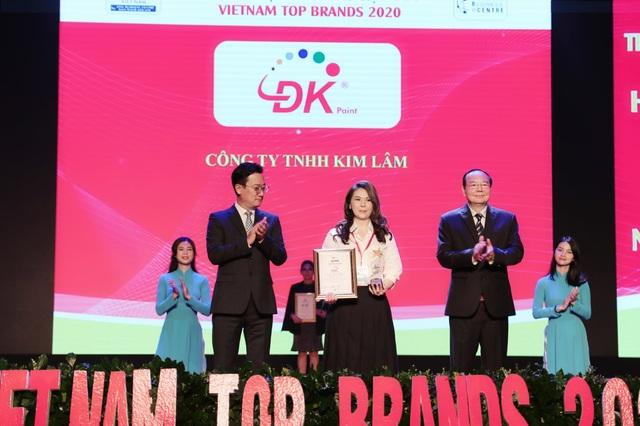 Sơn ĐK đạt danh hiệu Top 10 Thương hiệu hàng đầu Việt Nam 2020 - 3