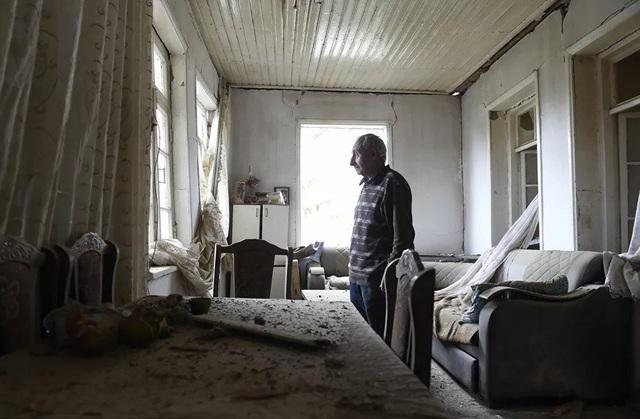 Cảnh tan hoang tại điểm nóng xung đột Azerbaijan - Armenia - 3