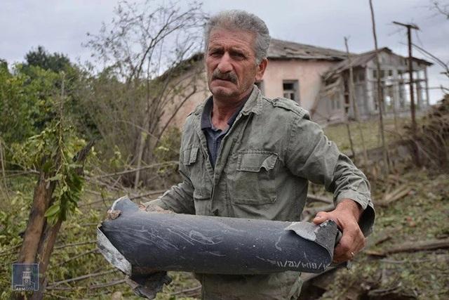 Cảnh tan hoang tại điểm nóng xung đột Azerbaijan - Armenia - 12