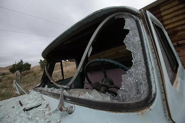 Cảnh tan hoang tại điểm nóng xung đột Azerbaijan - Armenia - 5