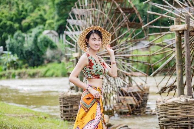 Hoa hậu Du lịch Châu Á mê đắm vẻ đẹp mùa thu Tú Lệ, Mù Cang Chải - 13