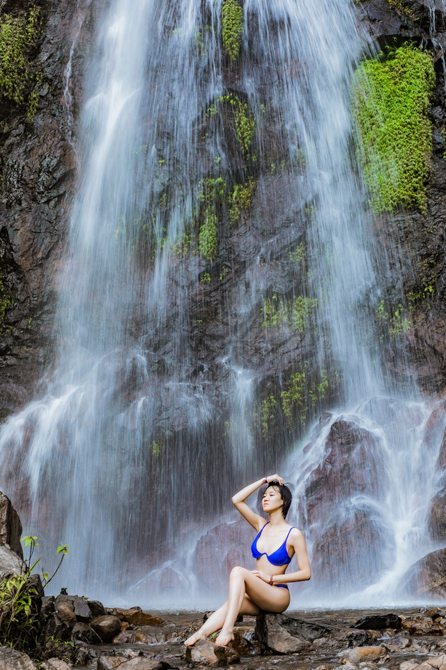 Hoa hậu Du lịch Châu Á mê đắm vẻ đẹp mùa thu Tú Lệ, Mù Cang Chải - 5