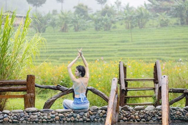 Hoa hậu Du lịch Châu Á mê đắm vẻ đẹp mùa thu Tú Lệ, Mù Cang Chải - 11