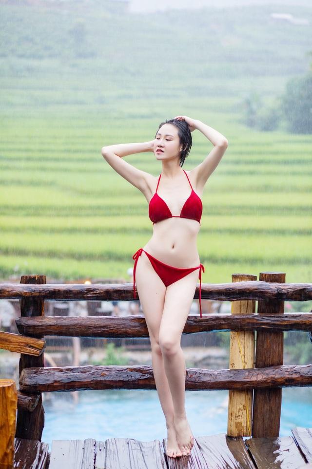 Hoa hậu Du lịch Châu Á mê đắm vẻ đẹp mùa thu Tú Lệ, Mù Cang Chải - 3