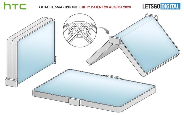 """HTC sắp """"tái xuất"""" với một chiếc smartphone màn hình gập? - 2"""