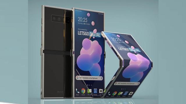 """HTC sắp """"tái xuất"""" với một chiếc smartphone màn hình gập? - 1"""