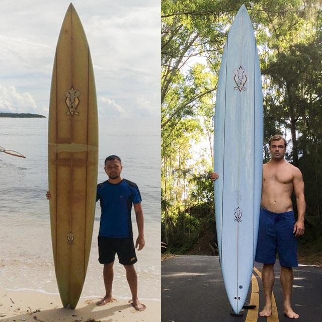 Làm mất ván lướt sóng ở Hawaii, bất ngờ tìm thấy ở... Philippines 2 năm sau - 3