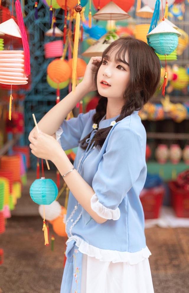Nữ sinh xinh như búp bê rạng ngời đón mùa Trung thu - 5