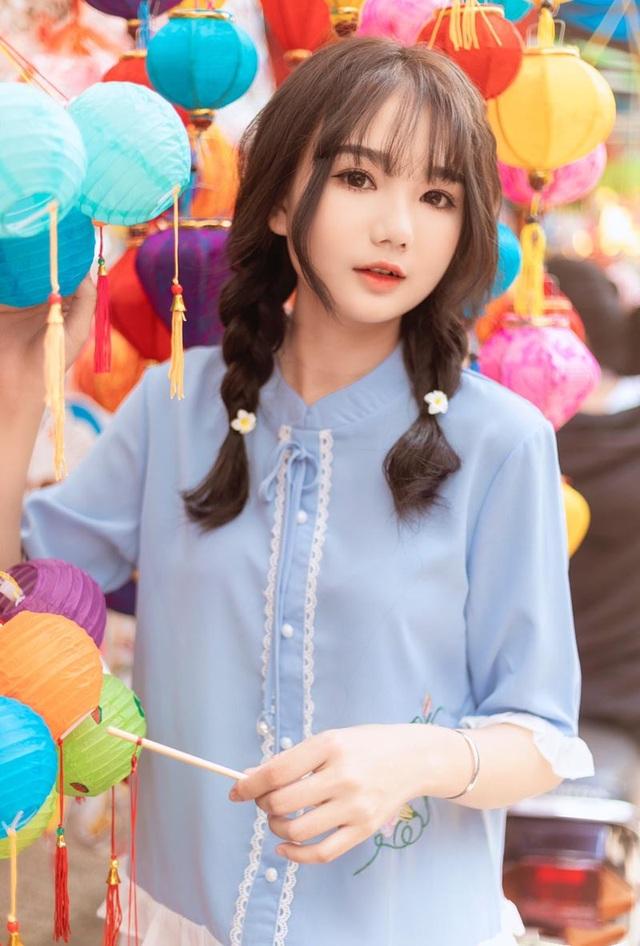 Nữ sinh xinh như búp bê rạng ngời đón mùa Trung thu - 6