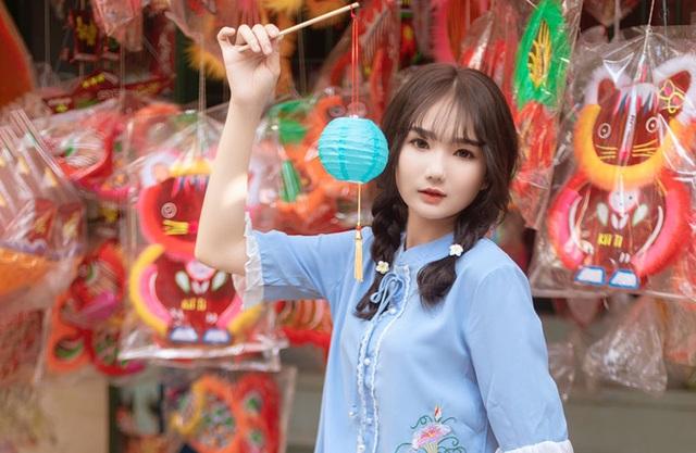 Nữ sinh xinh như búp bê rạng ngời đón mùa Trung thu - 7