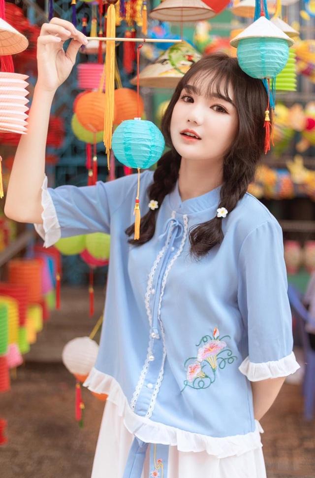 Nữ sinh xinh như búp bê rạng ngời đón mùa Trung thu - 10