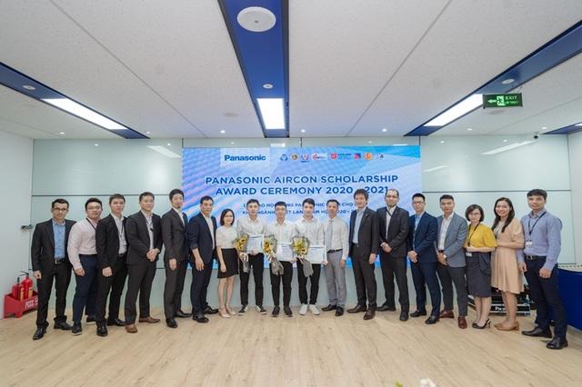 Panasonic Việt Nam tiếp tục thực hiện chương trình Học bổng dành cho sinh viên ngành Nhiệt lạnh - 1