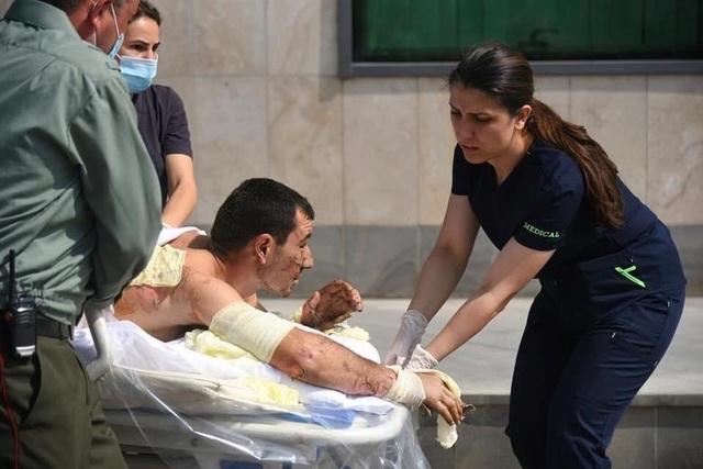 Cảnh tan hoang tại điểm nóng xung đột Azerbaijan - Armenia - 7