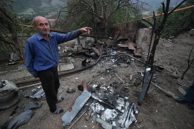 Cảnh tan hoang tại điểm nóng xung đột Azerbaijan - Armenia - 11